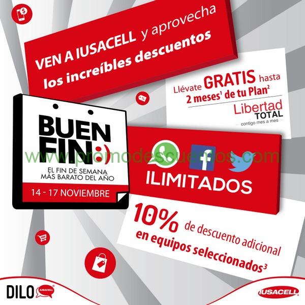 Promociones del buen fin 2014 en iusacell for Ofertas recamaras buen fin