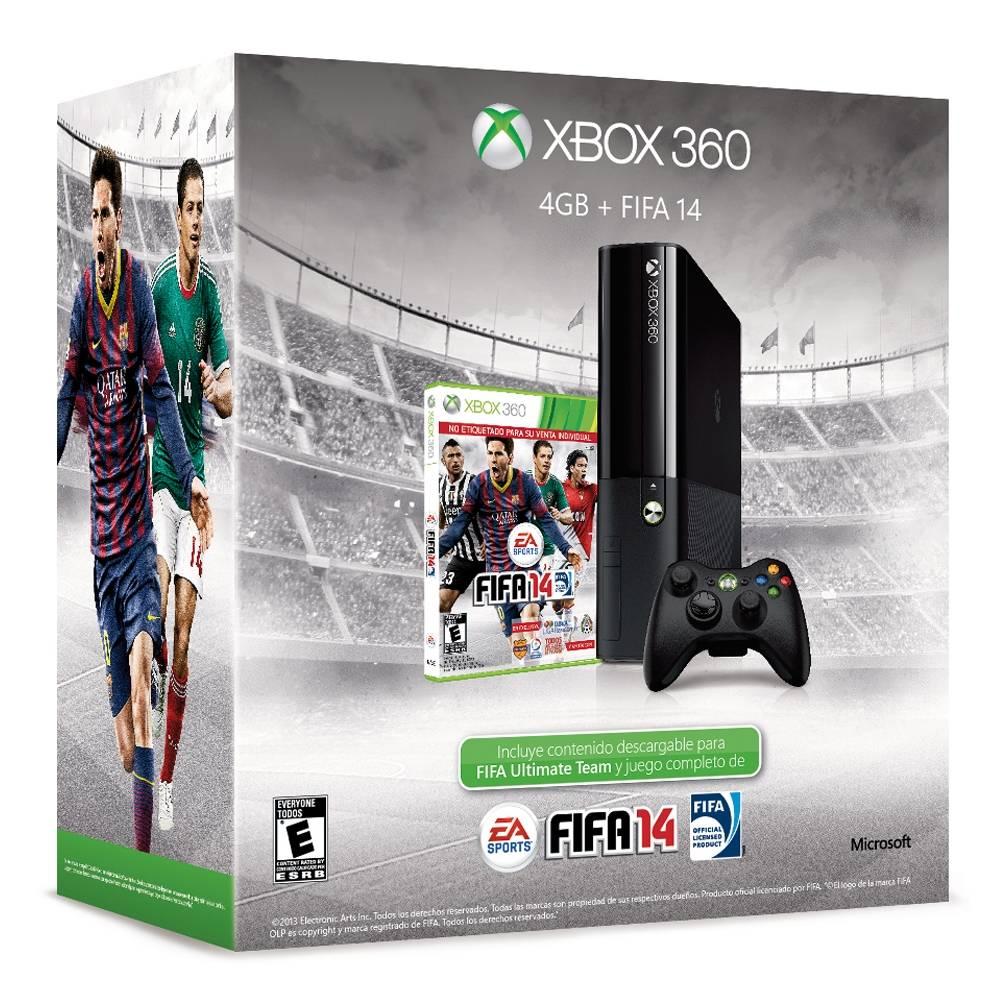 Walmart: Xbox 360 4GB + FIFA 14 $2,999 - promodescuentos com
