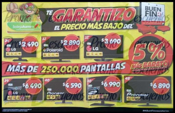 Folleto de ofertas del buen fin 2014 en bodega aurrer for Ofertas recamaras buen fin