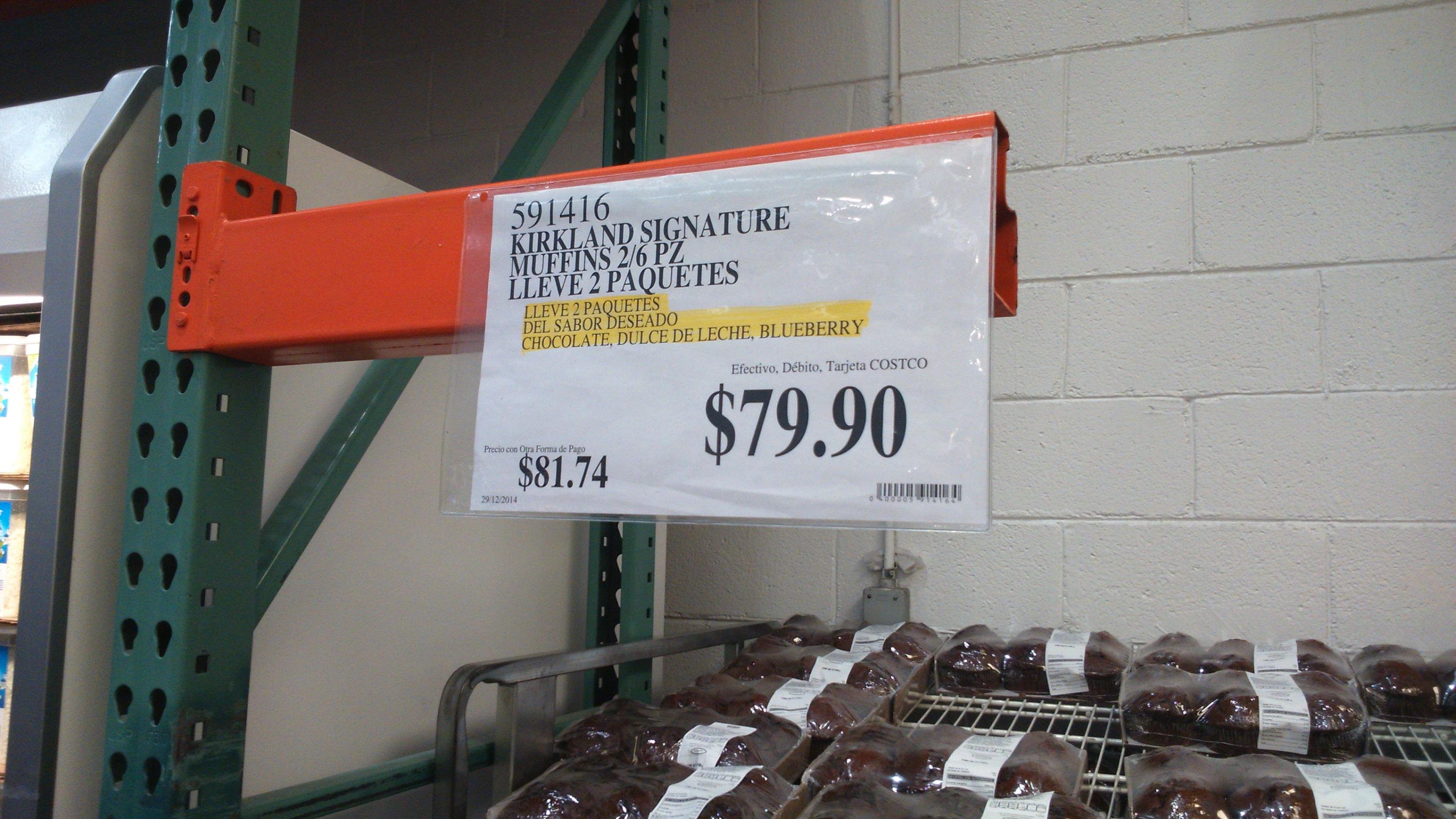 Costco muffins 2 paquetes por el precio de uno - Costco productos y precios ...