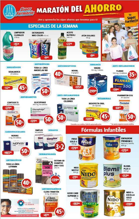 Lindeza precio farmacias guadalajara