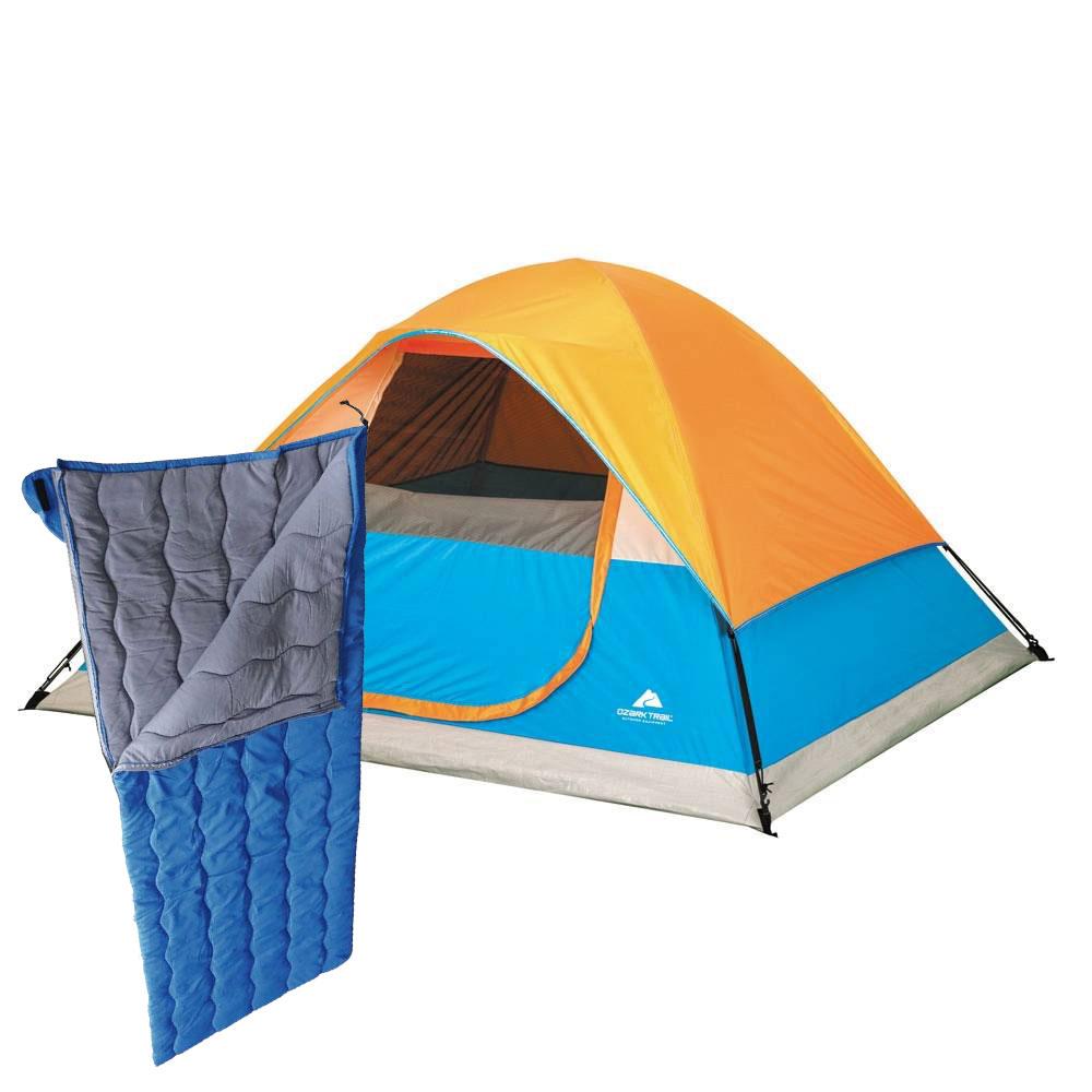 Walmart tienda de campa a m s sleeping bag 490 for Futon de dos plazas precio