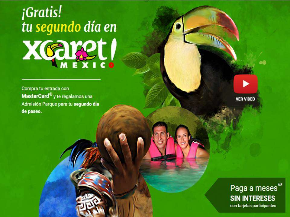 Xcaret discount coupons