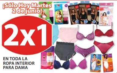 Soriana 2x1 en ropa interior de mujer y 20 de descuento for Ofertas de ropa interior