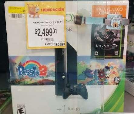 Walmart liquidiaci n de pantallas xbox 360 de 4gb y for Mueble para xbox 360