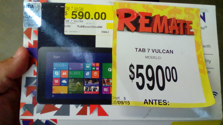 Bodega Aurrera Tablet Windows 8 1 Vulcan 7 A 590