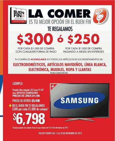 Folleto de ofertas del buen fin 2013 en comercial mexicana for Ofertas recamaras buen fin