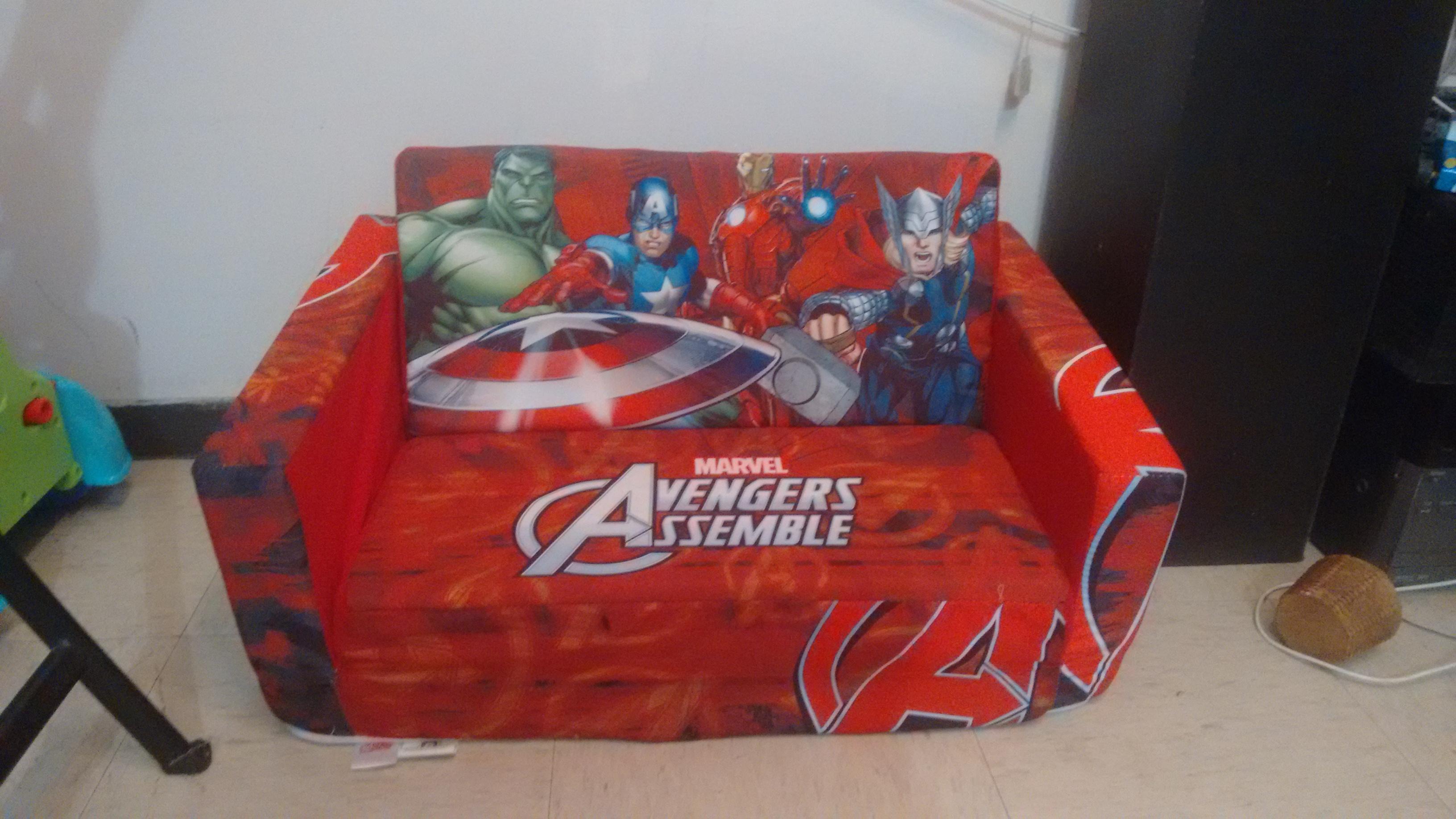 Walmart Sof Cama Ni Os Avengers