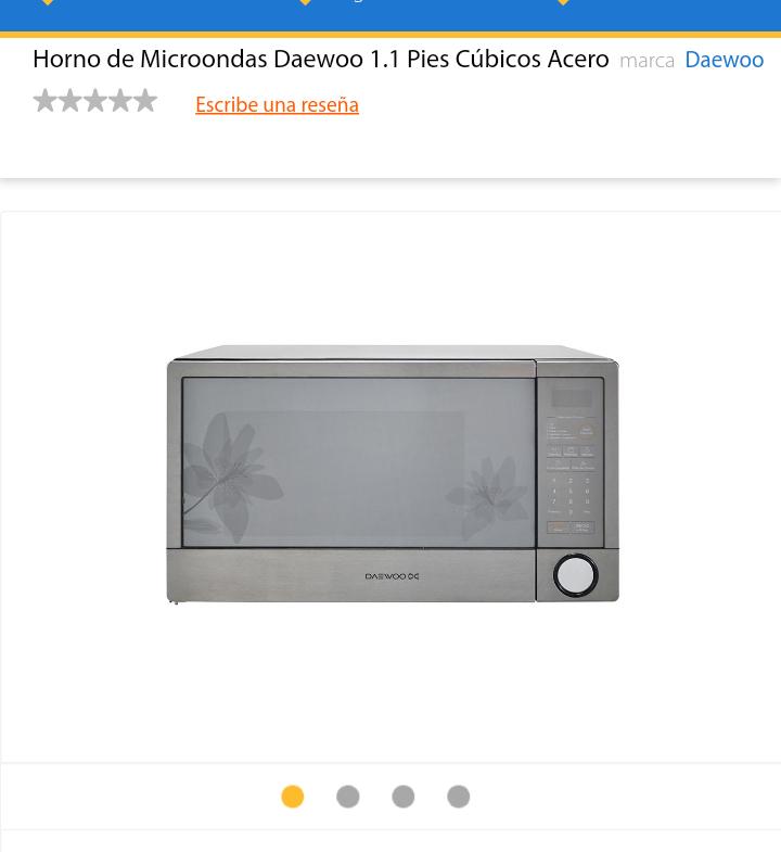 Walmart horno de microondas daewoo 1 1 pies - Horno microondas pequeno ...