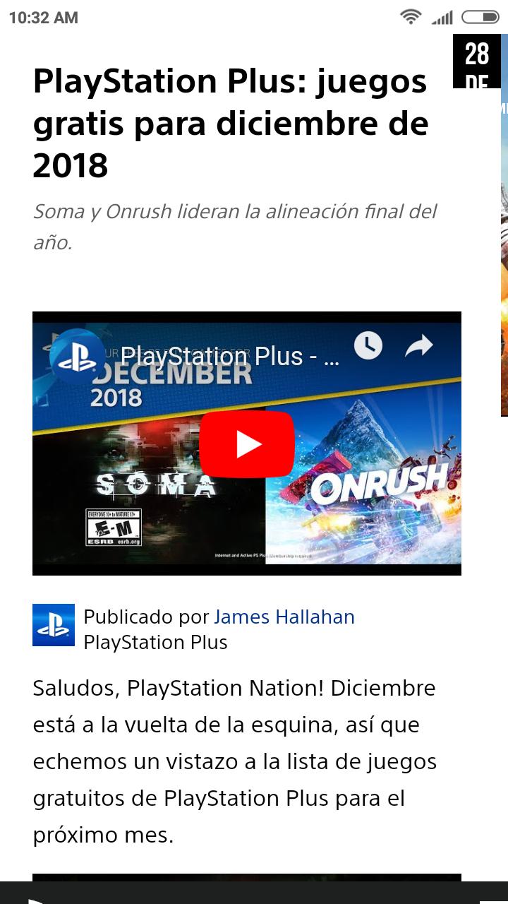 Playstation Juegos Gratis Para Ps Plus De Diciembre