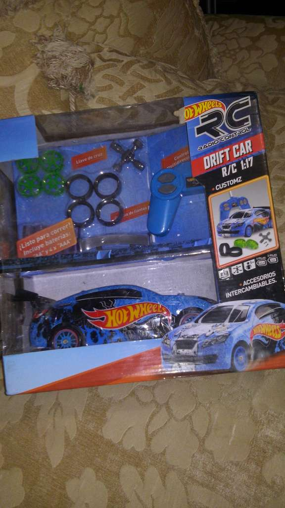 Bodega Aurrera Carro Control Hot Wheels 93 02 Y Set De Trocas