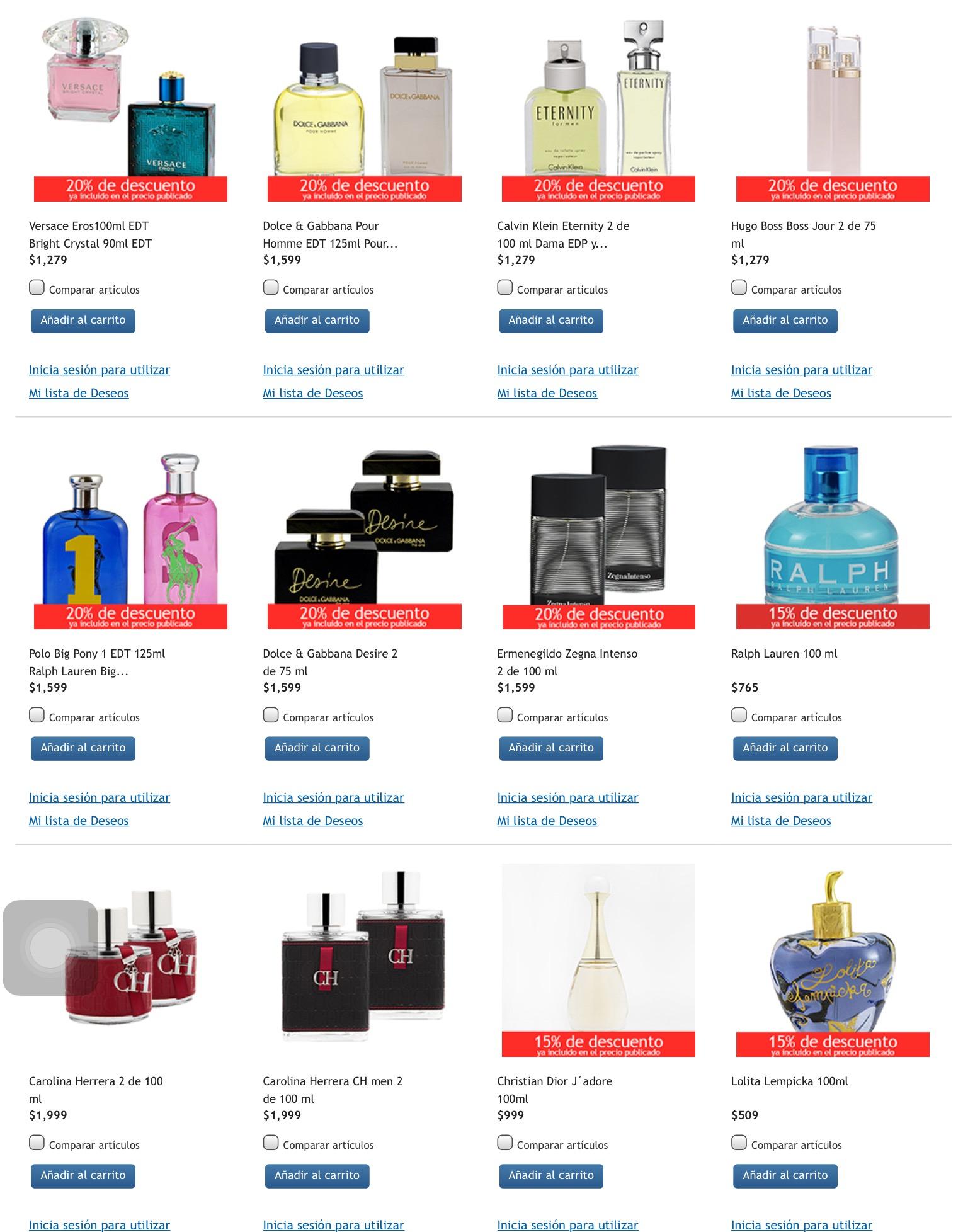 Costco perfumes con 15 o 20 de descuento con env o - Costco productos y precios ...