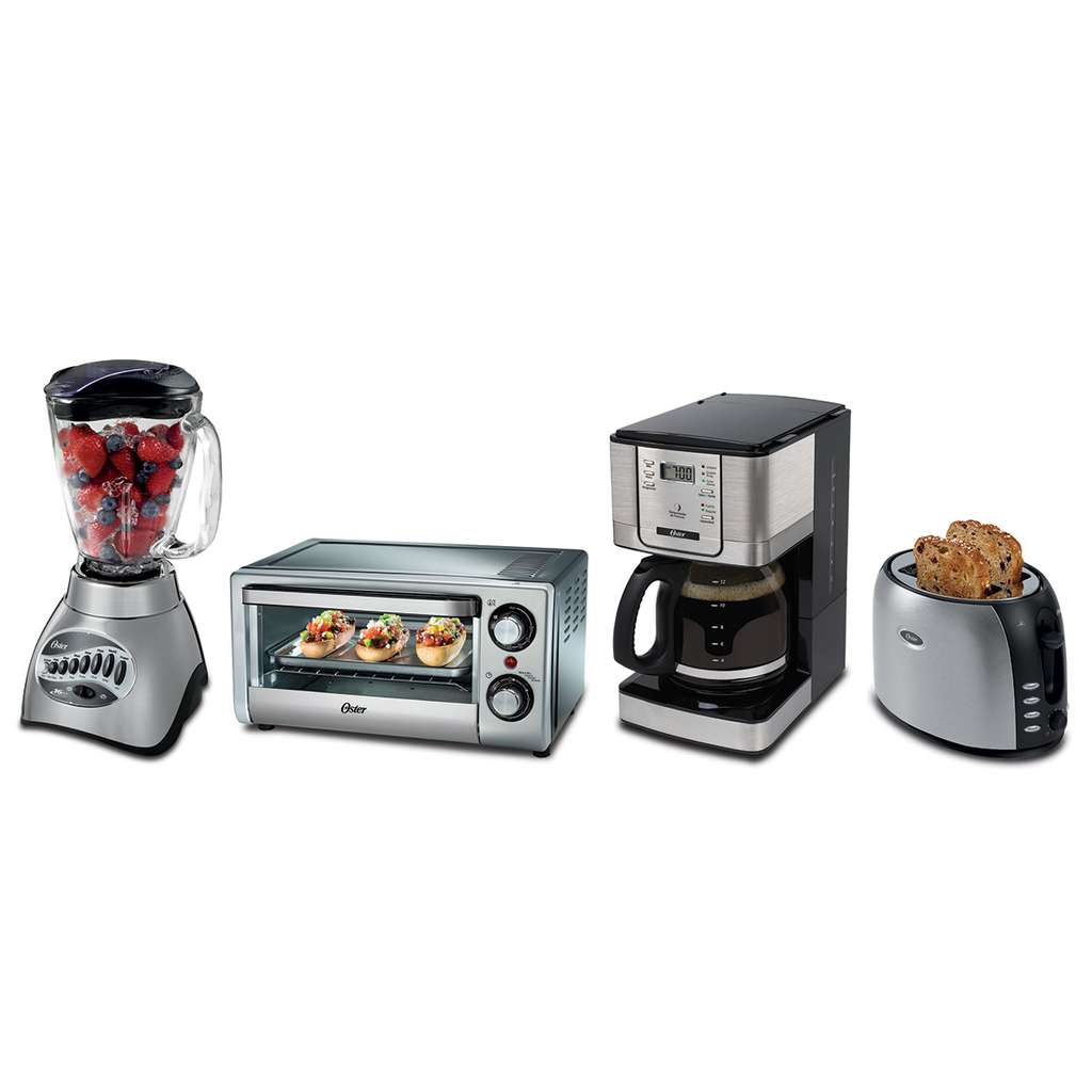 Costco oster paquete con licuadora cafetera horno for Oferta encimera y horno