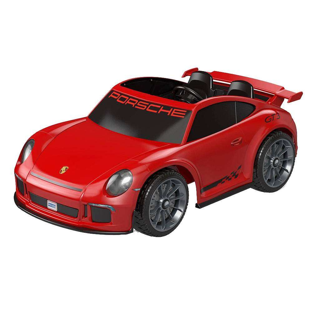 Car For Kids >> Walmart Online: Power Wheels Porsche 911 GT3 12 Volts a ...