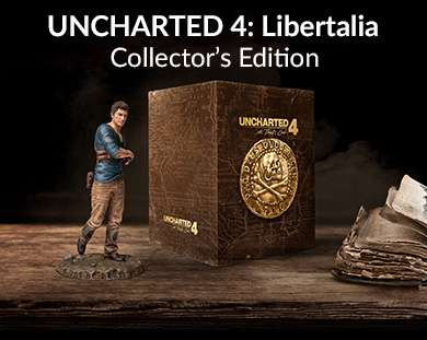 Amazon MX: Uncharted 4 A Thief's End Libertalia (Collector ...