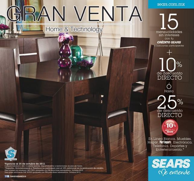 Sears: hasta 25% de descuento o 10% y 15 MSI en electrónica ...