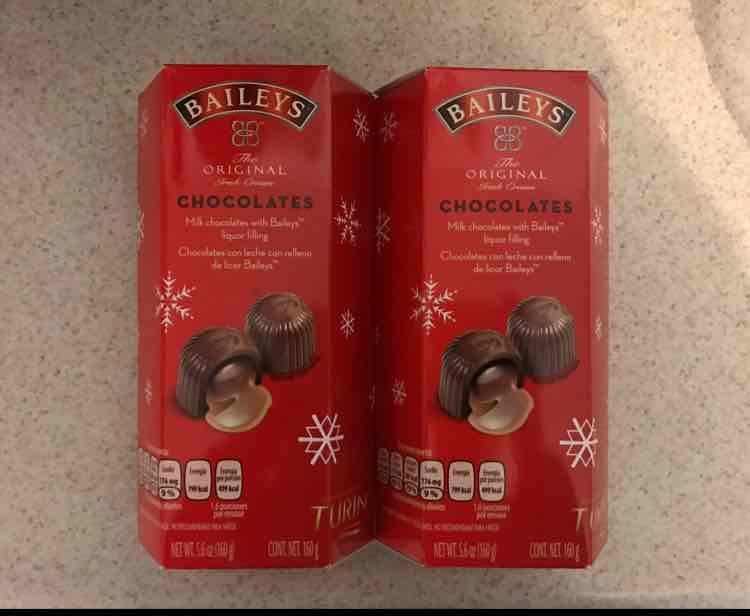 Walmart chocolate baileys navideño 160 grs