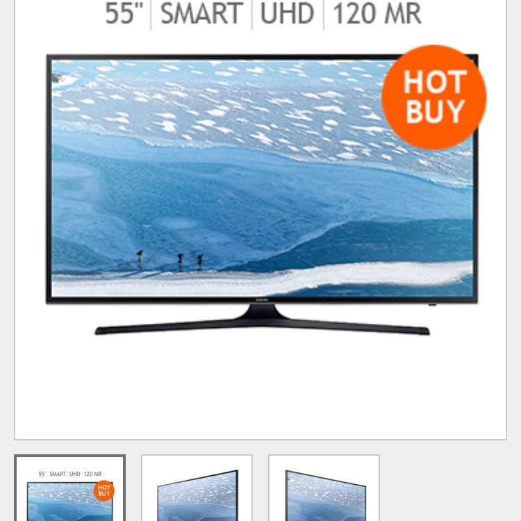 "Costco: Samsung LED 55"" Smart TV Ultra HD 120MR UN55KU6000"