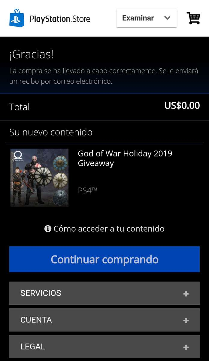 Pstore God Of War Holiday 2019 Giveaway Promodescuentos Com
