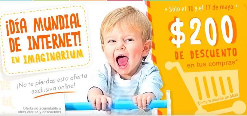 Imaginarium: $200 de descuento en compras mínimas de $800