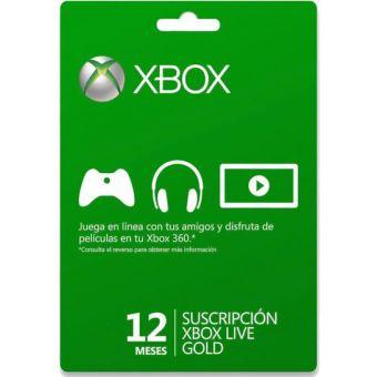 Linio: membresía de 12 meses Xbox Live Gold $499 o $399 con cupón (normal $699)