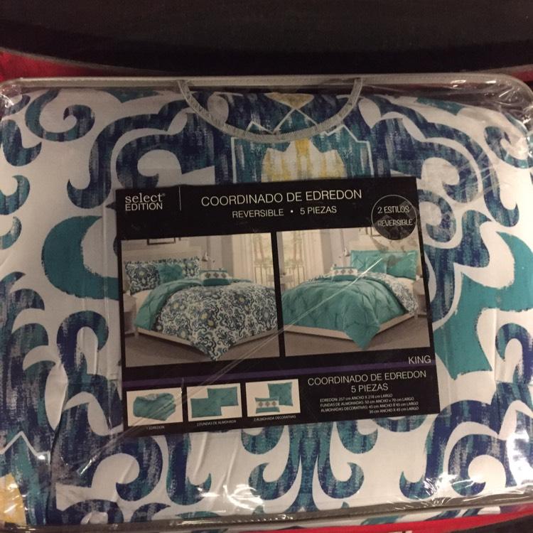 Walmart Domingo Diez: Edredón King Size última liquidación a $238.01
