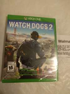 Walmart Centro Sur: Watchdogs 2 Xbox One y PS4