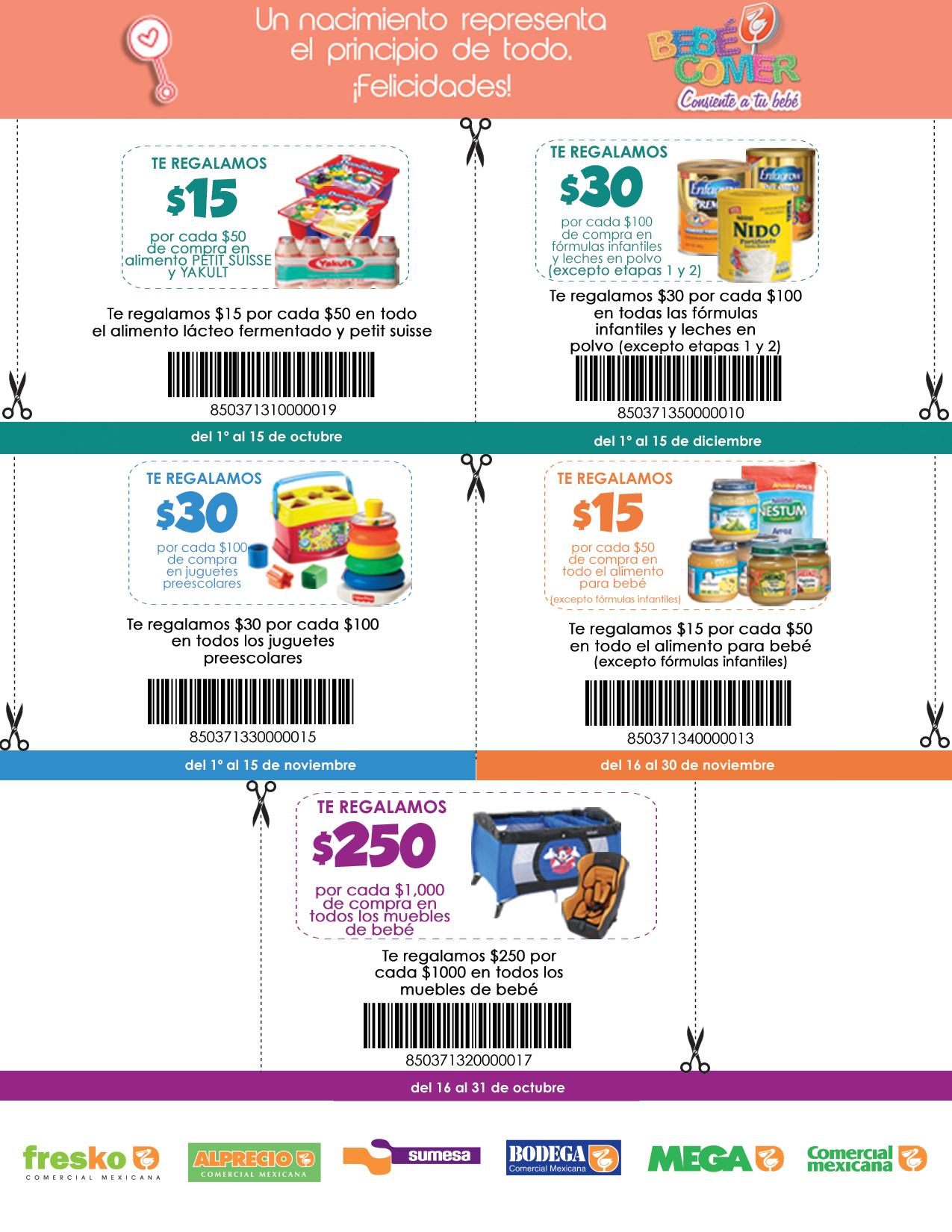 La Comer: cuponera de artículos para bebé (alimento, muebles, juguetes y más)