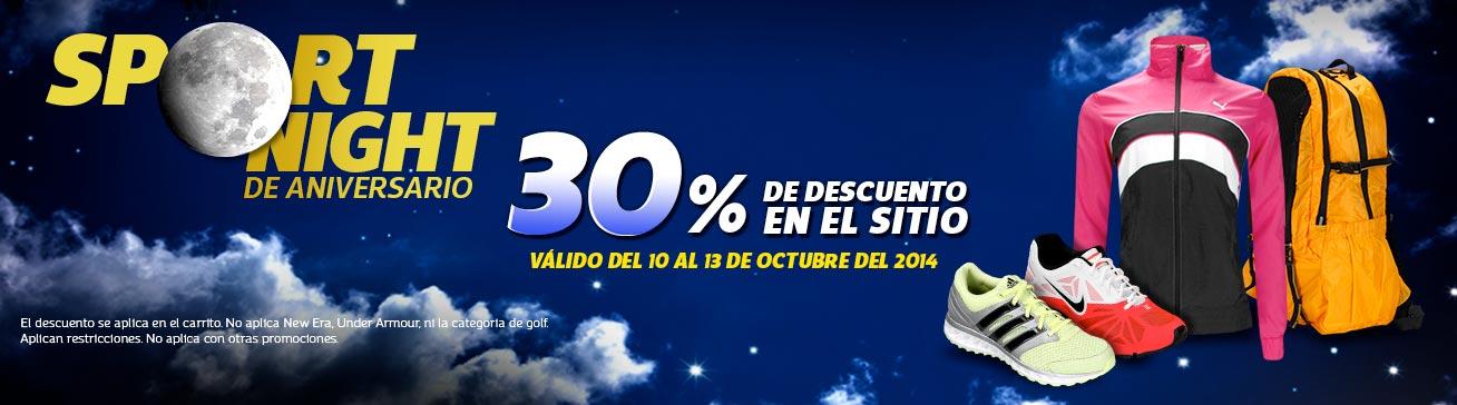 Netshoes sport night: 30% de descuento en toda la tienda