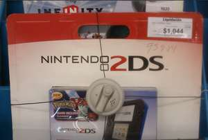 Sam's Club: Nintendo 2DS con Pokemon Y $1,044