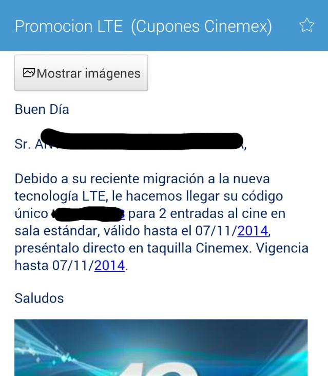 2 boletos para Cinemex gratis cambiando SIM Movistar de 4G LTE