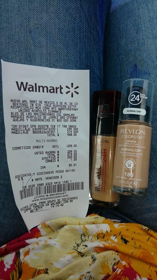 Walmart Diamane: REVLON COLORSTAY 2 por $219