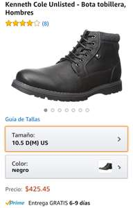 Amazon: Kenneth Cole Unlisted - Bota tobillera, Hombres