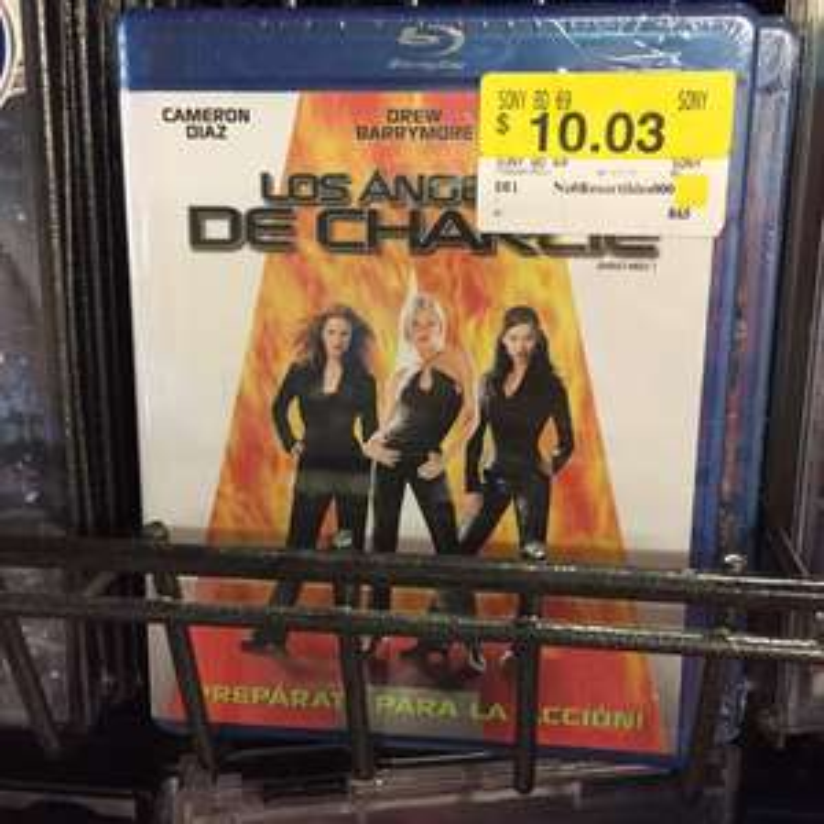 Walmart: Películas Blu-ray a $10.03
