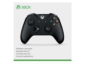 Amazon: Control Inalámbrico para Xbox One color Negro (con Bluetooth y entrada de 3.5mm para auriculares)