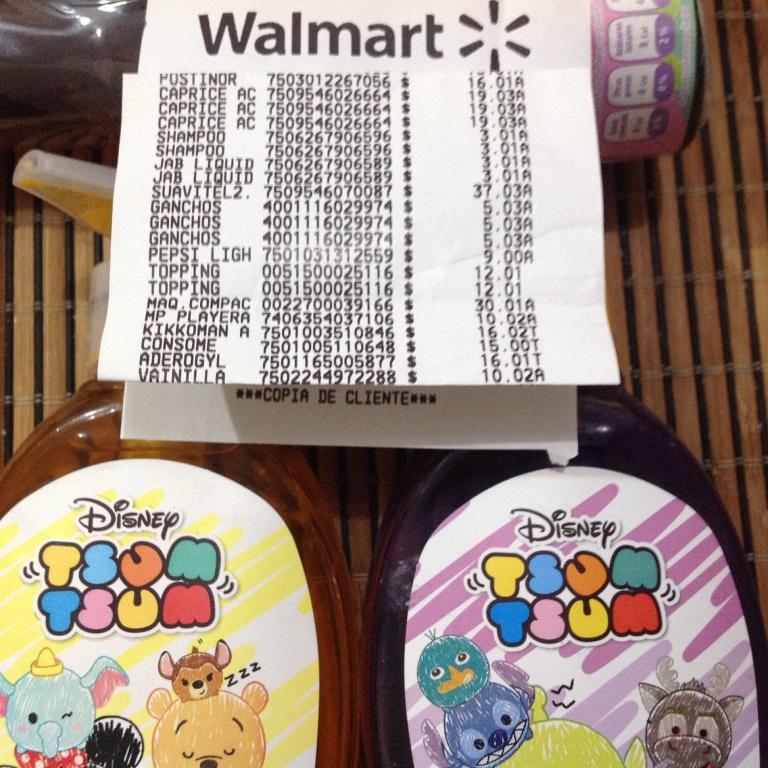 Walmart Pricho's Reforma Pue.: Jabón y Shampoo Disney $3.01 y más