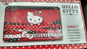 Walmart Polígono Cancún: Tablet Hello Kitty a $745.01