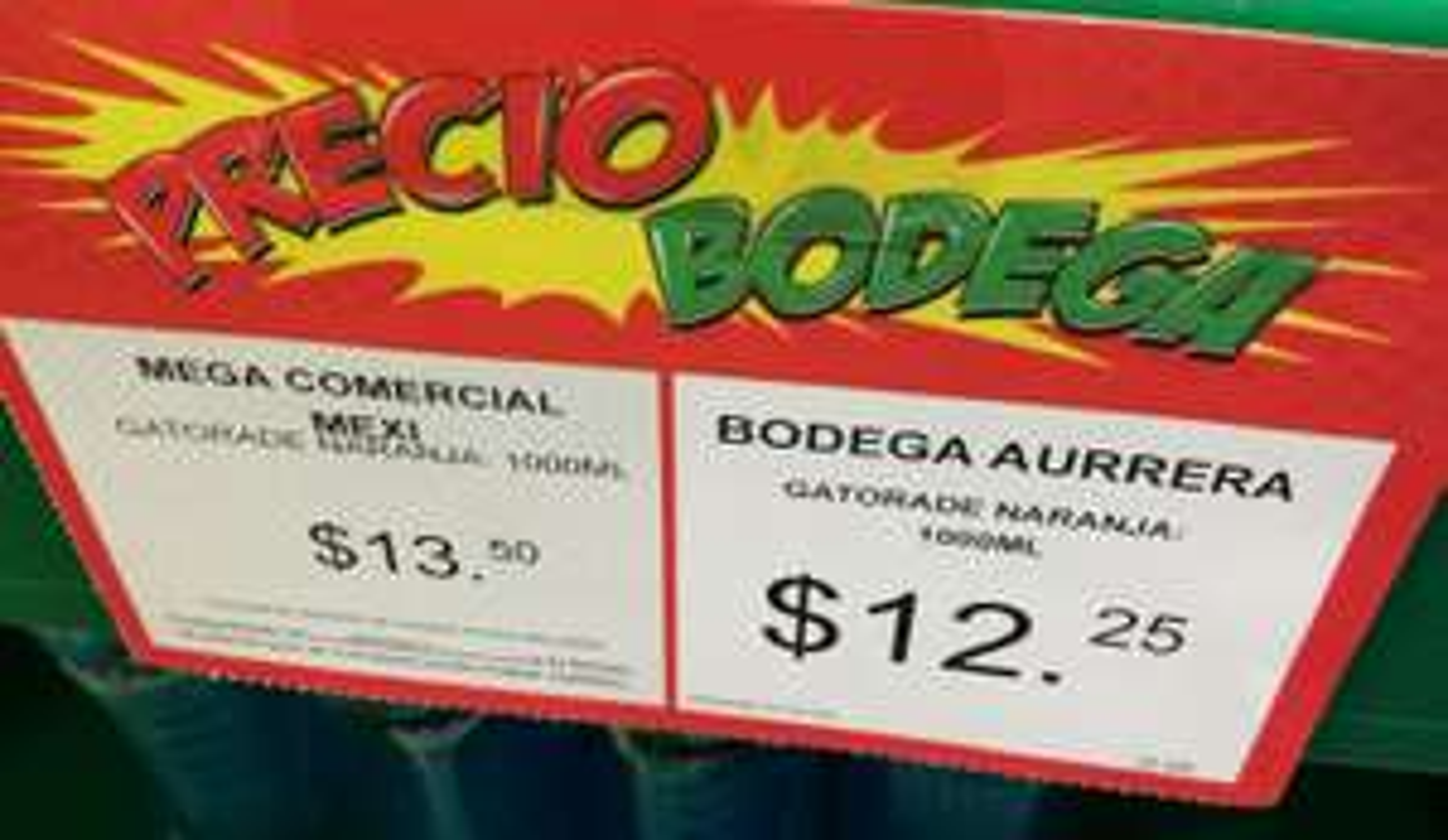 Bodega Aurrera: Gatorade de 1lt a $12.25