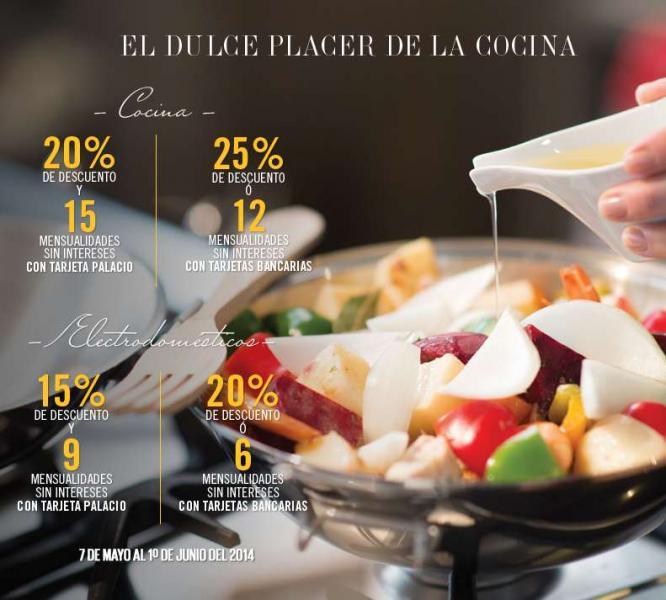 Palacio de Hierro: hasta 25% de descuento en cocina y electrodomésticos