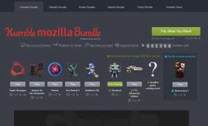 Humble Mozilla Bundle [paga lo que quieras]
