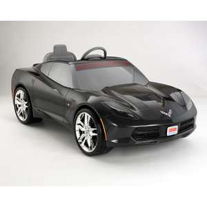 Julio Cepeda: Power Wheels corvette negro en liquidación