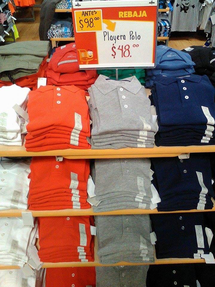 Walmart: playeras tipo polo