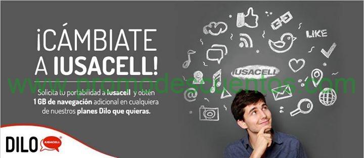 Iusacell: 1GB extra al cambiarte de otra compañía a plan Di lo que quiereas