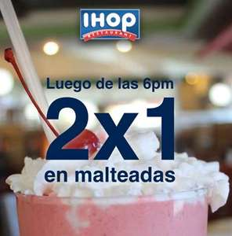 IHOP: 2x1 en malteadas, hamburguesas y cervezas después de las 6
