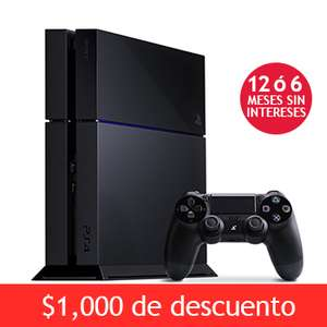Costco: PlayStation 4 $6,499 y 12 meses sin intereses