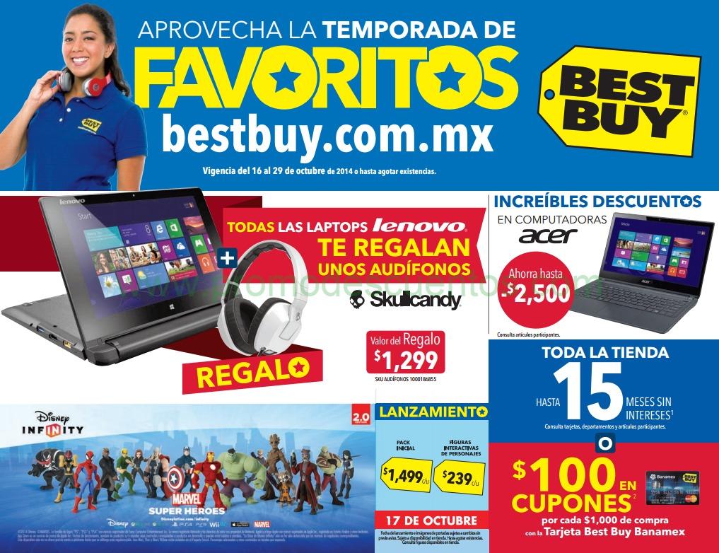 Folleto de ofertas en Best Buy del 16 al 29 de octubre