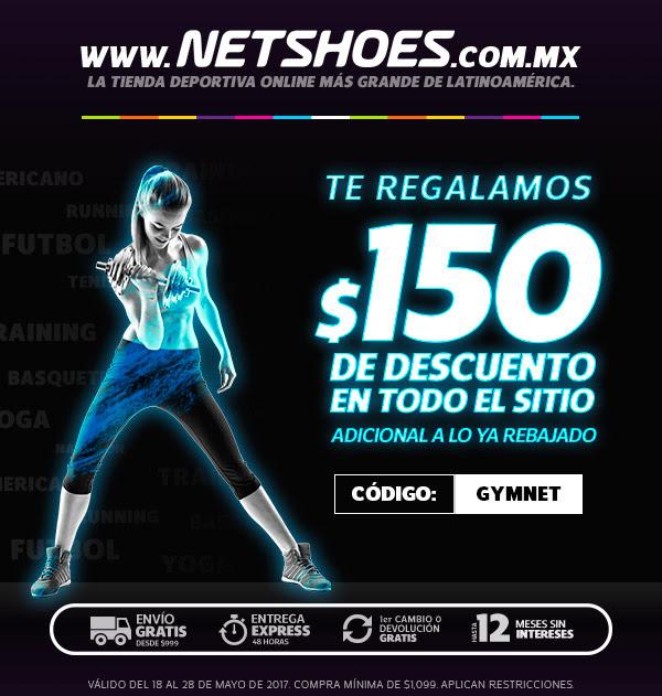 Netshoes: $150 de descuento en la compra mínima de $1099 y envío gratis