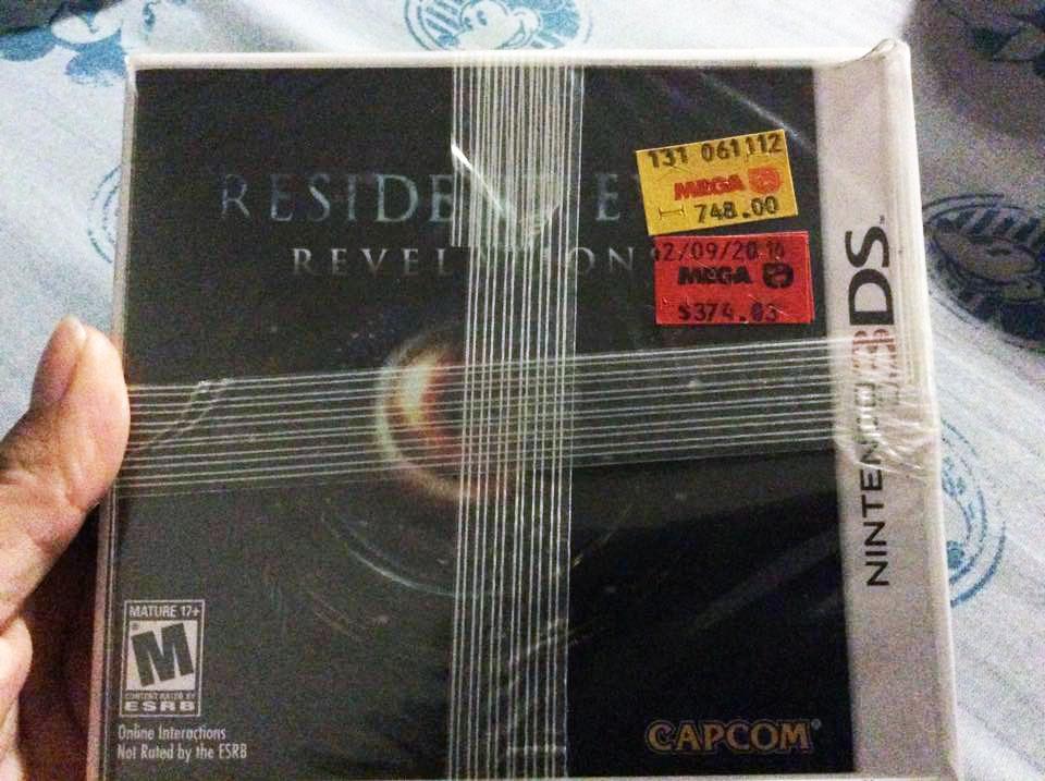 La Comer: RE Revelations de $374 y varios juegos 3DS, PS3, Wii, Wii U, 360