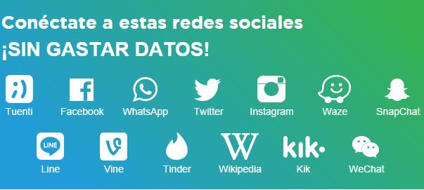 SIM Tuenti Gratis: Facebook, Twitter, Whatsapp, Instagram, Waze y más incluídas en recargas