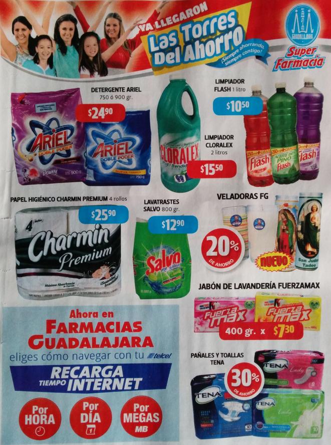 Folleto de ofertas Farmacias Guadalajara del 16 al 31 de octubre 2014